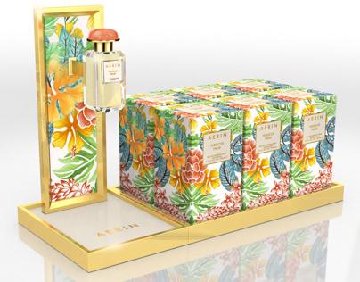 AERIN ® Perfume Counter Tester Display