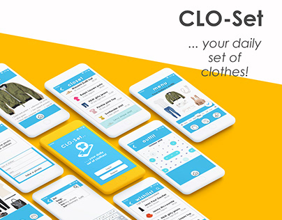 CLO-Set | mobile app suggesting outfits