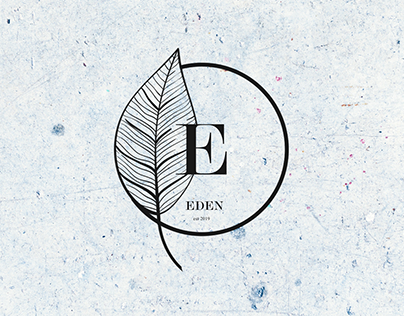 EDEN Logo Design - Modern Flower Shop