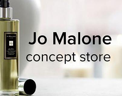 Jo Malone. Concept of Russian online store