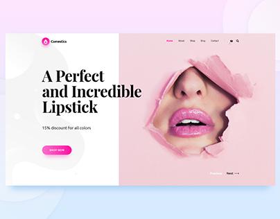 Cosmetic slide