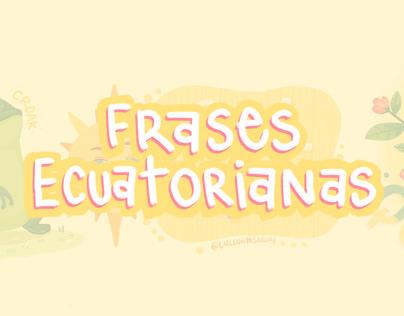 Frases Ecuatorianas