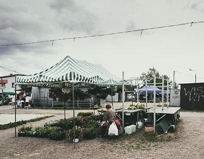 City market. Cracow. Poland