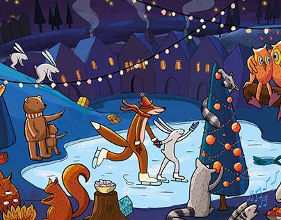 Christmast illustration