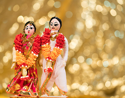 Doll Wedding Campaign for Lucky Shopping Mall