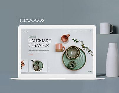 Ceramics store website