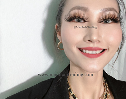 Madihah Private Label Mink 3D Hair Lashes Vendors