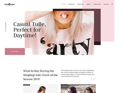TheGem - Fashion Lifestyle Magazine