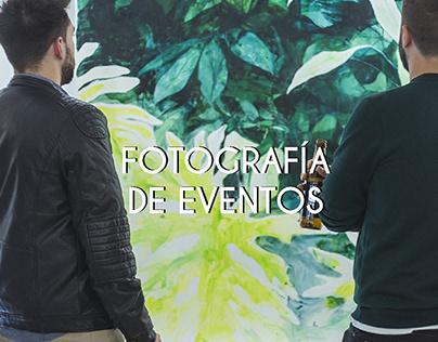 Fotografía de eventos.