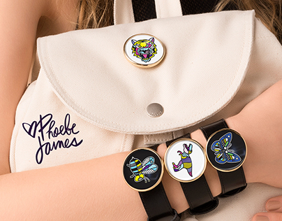 Phoebe James | Fashion accessory illustrations