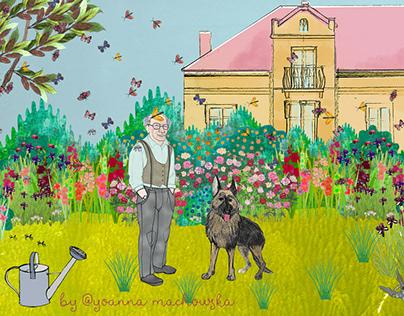 Granpa's Mysterious Garden