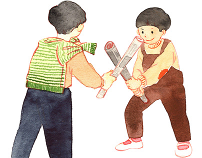 Old Japanese Children's play Ⅲ