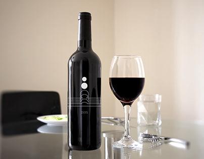 Zen Label Wine Design