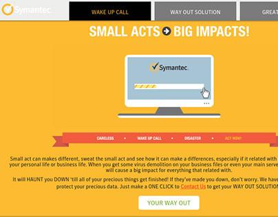 Symantec ID - Microsite