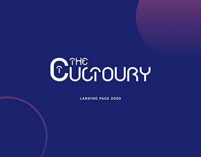 The Cultoury Landing Page