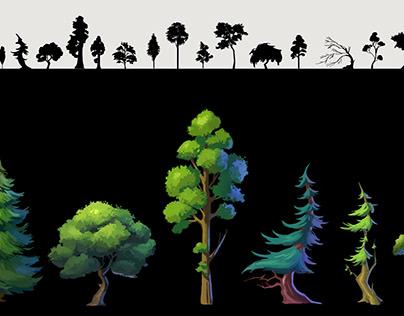 Foliage design 1