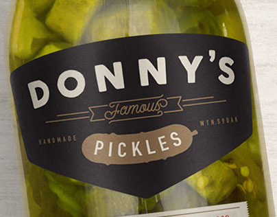 Donny's Famous Pickles