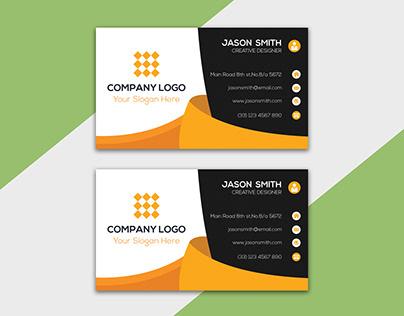 Corporate Business Card Design : 06