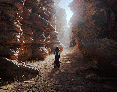 Shaman in the Canyon