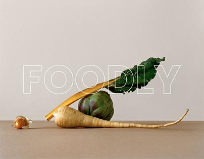 Foodly - Website design
