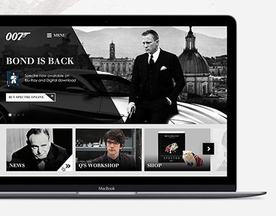 007.com Website design concept