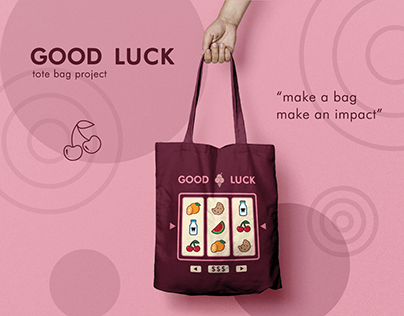 Good Luck tote bag project