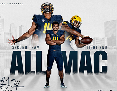 Toledo Rockets - All-MAC Football