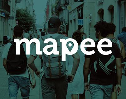 Mapee - UI e UX