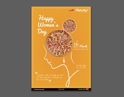 PIZZA HUT women's day offer