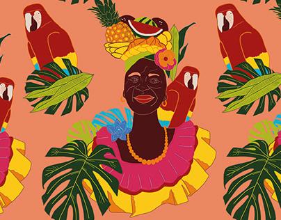 Sabor tropical: Palenqueras