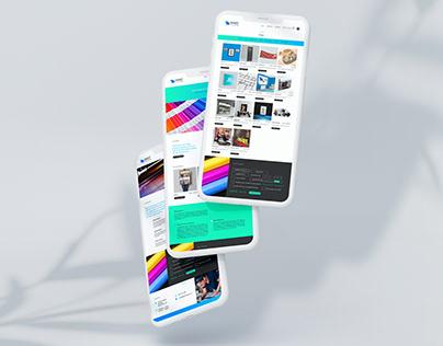 Giant Colour UK UI/UX