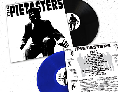 The Pietasters, Self Titled LP 2018