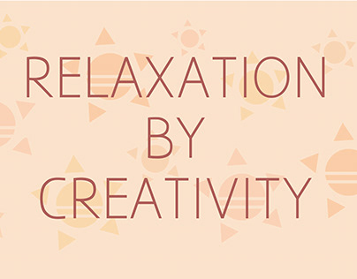 relaxation by creativity