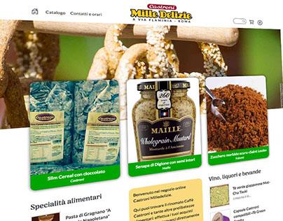 E-commerce site (castroniaviaflaminia.it, 2017)