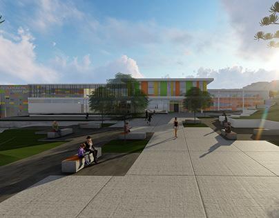 Escola Pública de ensino Infantil + Praça