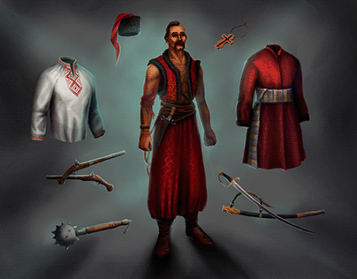 fantastic world of the Cossack