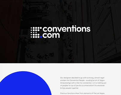 Conventions.com Brand Identity