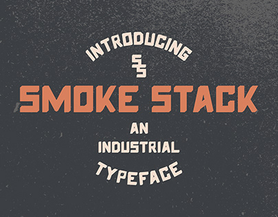 Smoke Stack Font Family (4 Fonts)