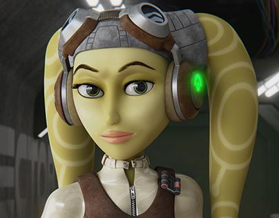 Star Wars 3D Fan-Art - Hera Syndulla