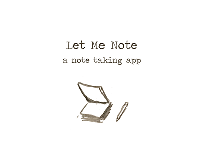 Let Me Note