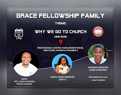 Grace Fellowship - Poster