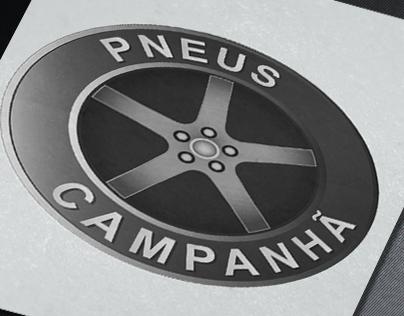 Pneus Campanhã | Logo and business card