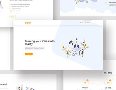 Digital Roar Landing Page