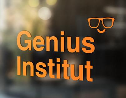 Genius Institut   Re-Branding & Website