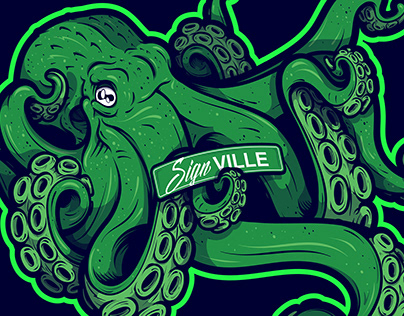 Signville - Branded Mascot Vector Illustration Project