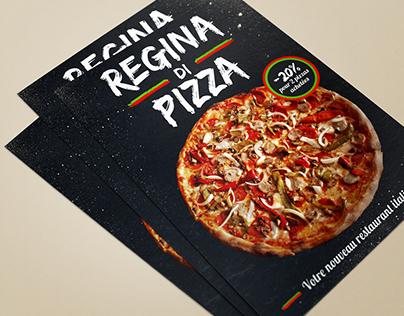 Flyer - Pizza restaurant