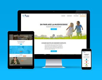 Site internet - Association Grégory Lemarchal