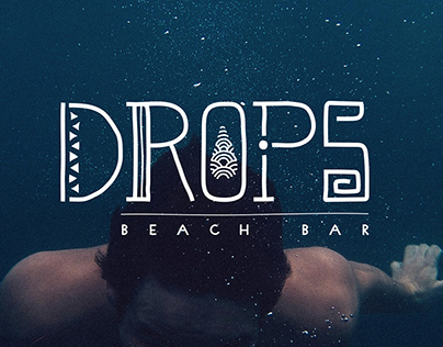 Drops Beach Bar - Branding