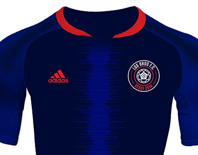 LOS BROS F.C.   Branding + Diseño de indumentaria