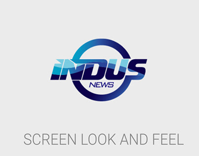 INDUS NEWS BRANDING / CHANNEL LOOK